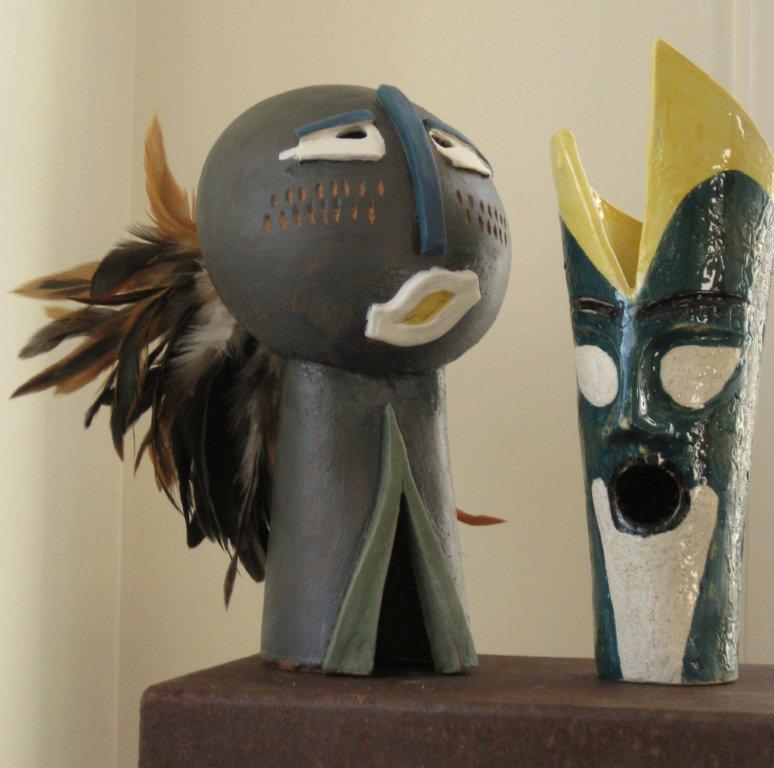 keramiek beeld Africa
