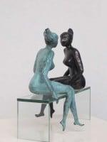 meisjes brons spiegelen 1